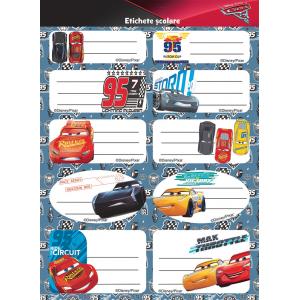 Set Etichete Cars 10/coala 2/set