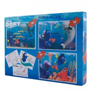Puzzle 3in1 Dory