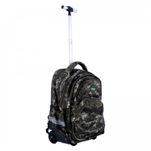 Trolley Backpack Fashion rover-army3