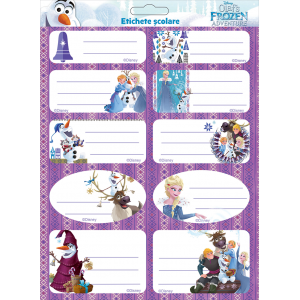 Set Etichete Frozen 10/coala 2/set