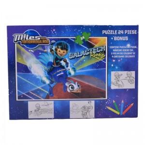 Puzzle 24 piese Miles