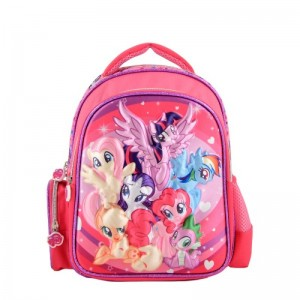 Ghiozdan 3D cu 2 compartimente My Little Pony