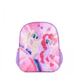 Ghiozdan mic paiete reversibile My Little Pony