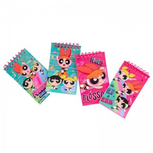 Set 4 notesuri Powerpuff Girls