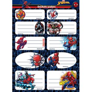 Set Etichete Spider-Man 10/coala 2/set