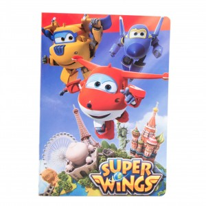 Caiet foaie velina Super Wings