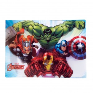 Coperta caiet biologie Avengers