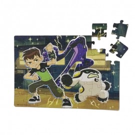 Puzzle 3 in 1 Ben 10
