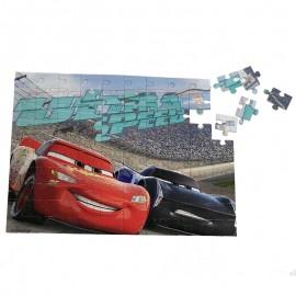 Puzzle 100 piese + Bonus Cars