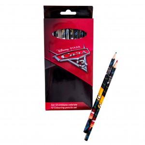 Set 12 creioane color Cars