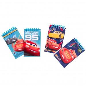 Set 4 notesuri Cars
