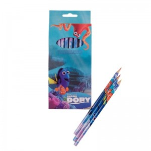 Set 12 creioane colorate Dory