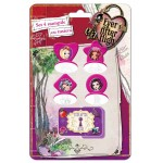 Set 4 stampile cu tusiera Ever After High