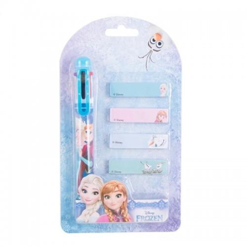 Pix 6 culori + memo stick Frozen
