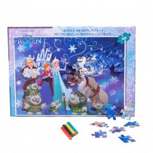 Puzzle 100 piese + Bonus Frozen