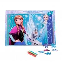 Puzzle 160 piese + Bonus Frozen