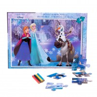 Puzzle 24 piese + Bonus Frozen