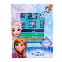 Set creativ cu stampile si carioci Frozen