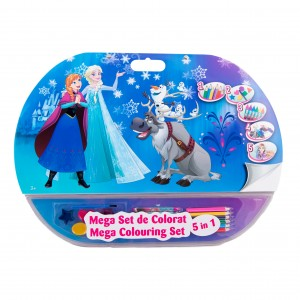 Mega set de colorat 5in1 Frozen