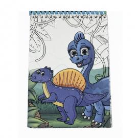 Picteaza cu apa - Dinozauri