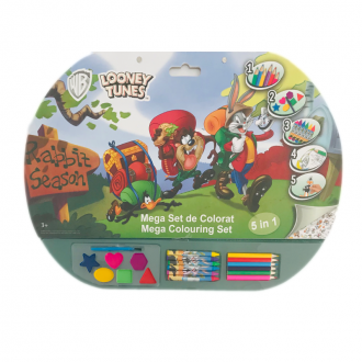 Mega set de colorat 5in1 Looney Tunes