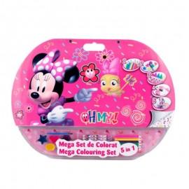 Mega set de colorat 5in1 Minnie