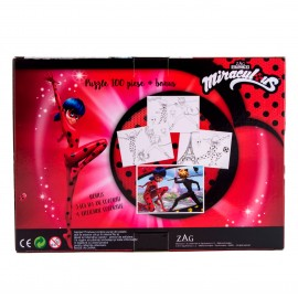 Puzzle 100 piese Miraculous