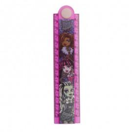 Rigla 30cm extensibila Monster High