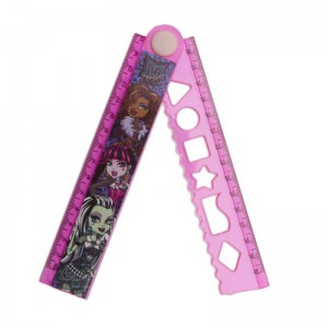 Rigla 30cm extensibila Monster High