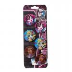 Set 6 insigne Monster High