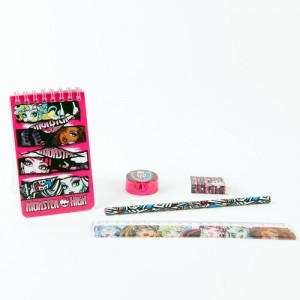 Set instrumente cu notes Monster High