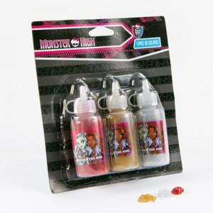 Set lipici glitter Monster High 3 buc