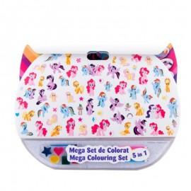 Mega set de colorat 5in1 My Little Pony