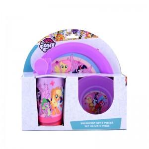 Set dejun 5 piese My Little Pony