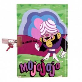 Agenda cu lacat Powerpuff Girls