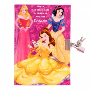 Agenda cu lacat Princess