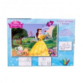 Puzzle 100 piese + Bonus Princess