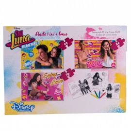 Puzzle 3 in 1 Soy Luna
