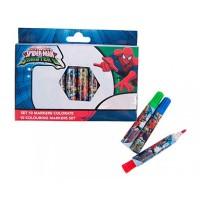 Set 10 markere Spider-Man