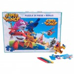 Puzzle 24 piese Super Wings