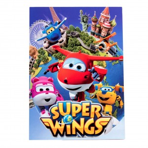 Bloc de desen A4 Super Wings